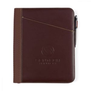 cedar leather executive binder